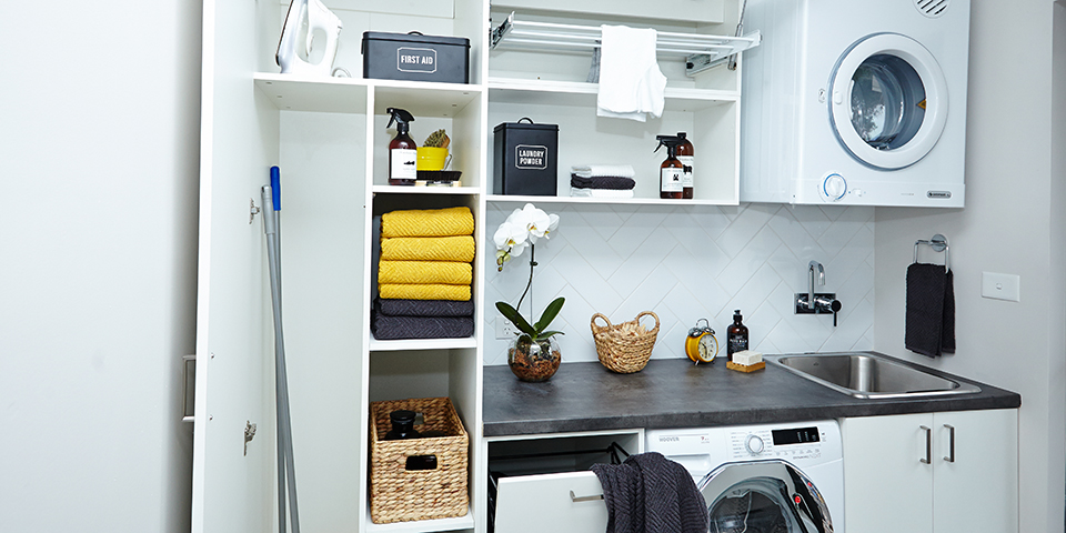 How to choose a laundry storage system? Know in three simple ways!!