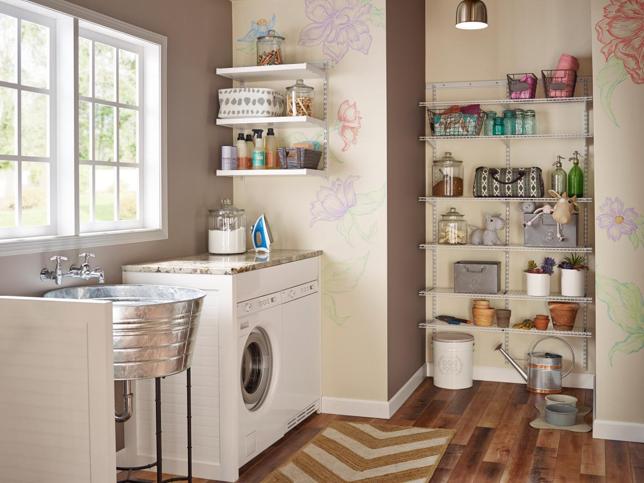 Top three things you need to know about laundry room storage solutions